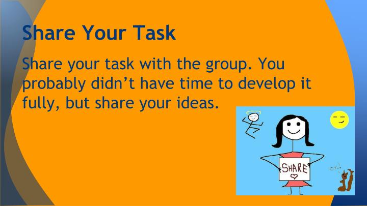 Share Your Task