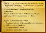 case 3 cdw harrah s entertainment and others developing strategic customer loyalty systems