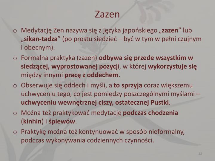 Zazen