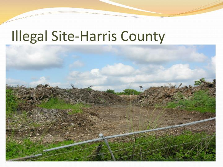 Illegal Site-Harris County