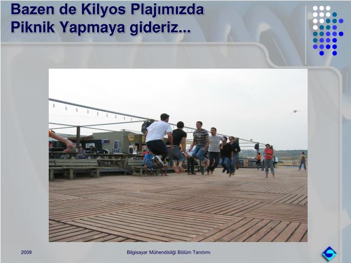 Bazen de Kilyos Plajımızda
