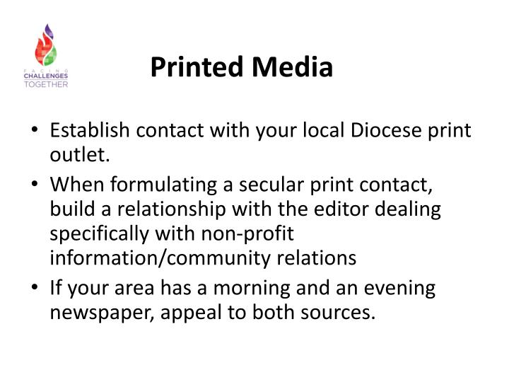 Printed Media