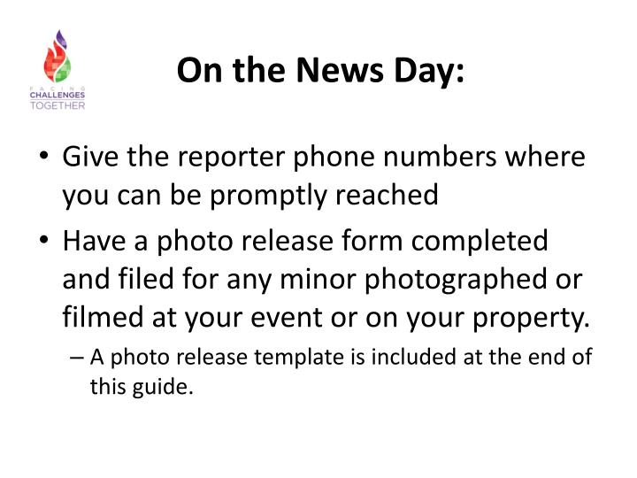 On the News Day: