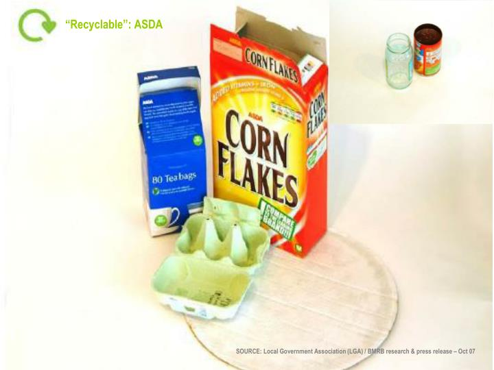 """""""Recyclable"""": ASDA"""