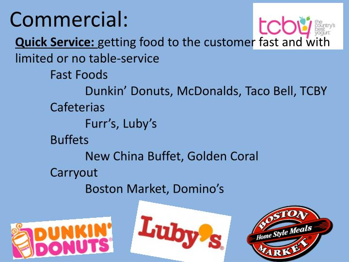 Commercial: