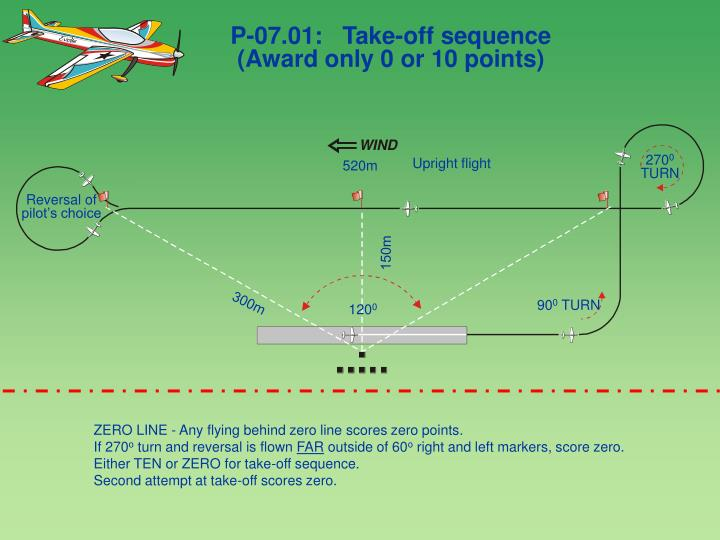 P-07.01:   Take-off sequence