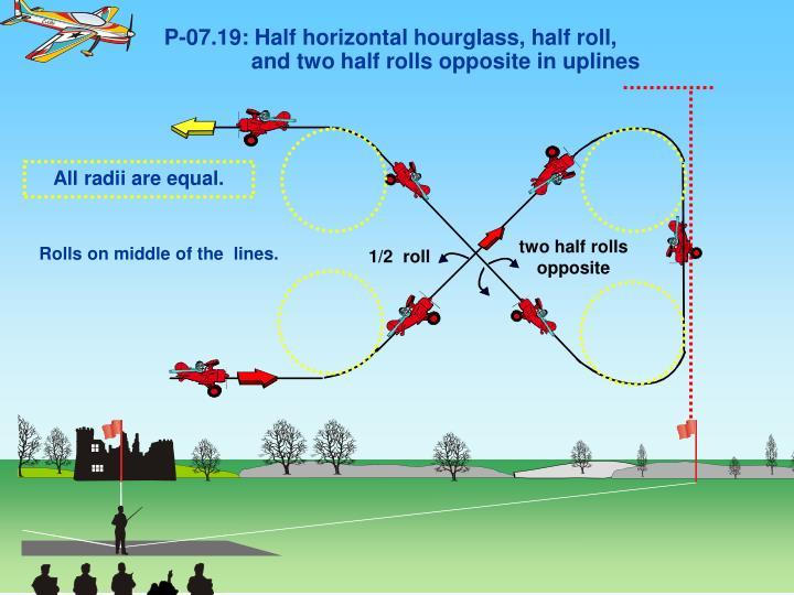 P-07.19: Half horizontal hourglass, half roll,