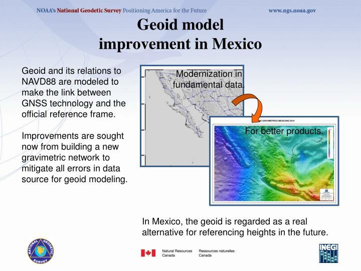 Geoid model