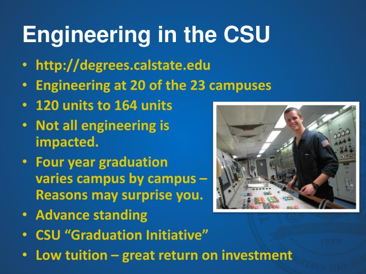 Engineering in the CSU