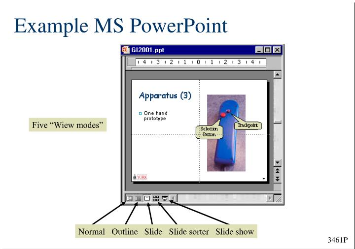 Example MS PowerPoint