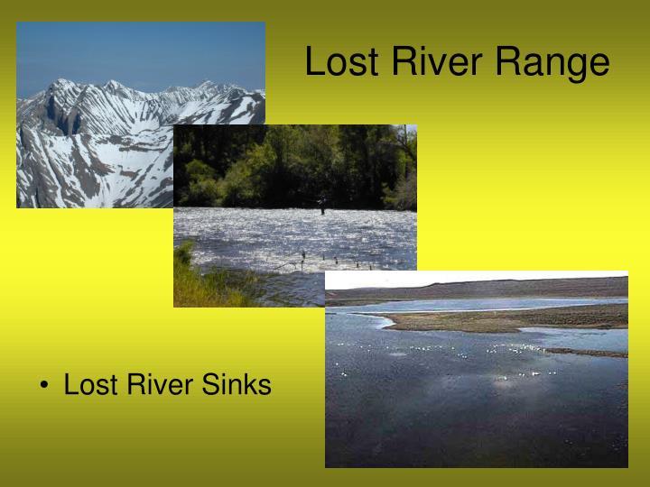 Lost River Range