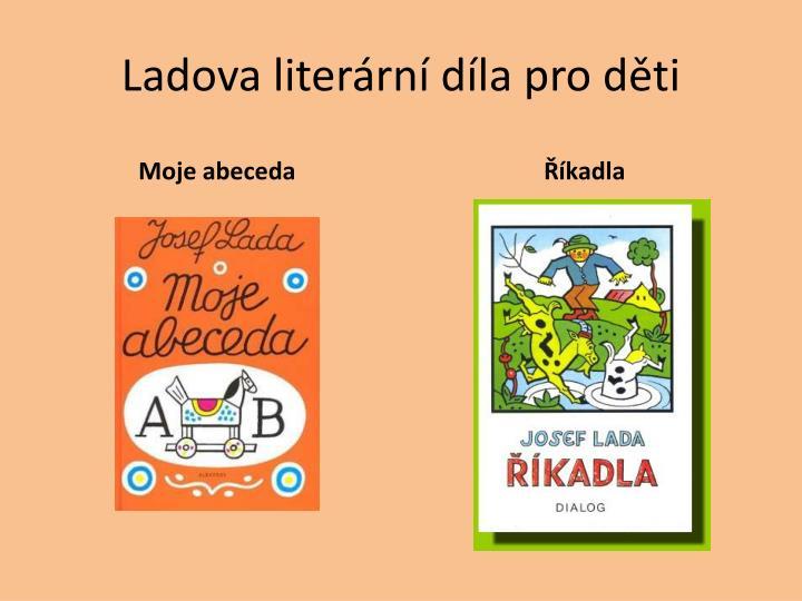 Ladova literární díla pro děti