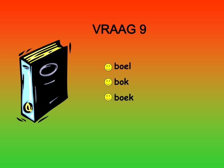 VRAAG 9