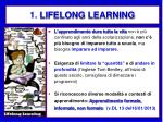 1 lifelong learning