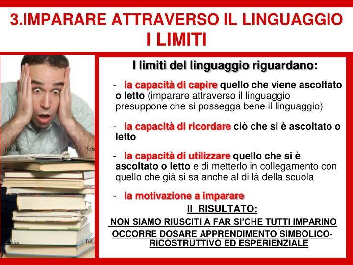 I limiti del linguaggio