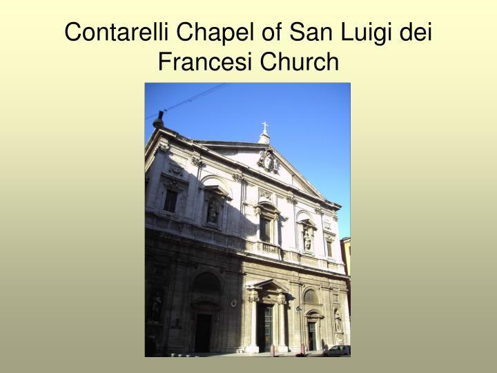 Contarelli Chapel of San Luigi dei Francesi Church