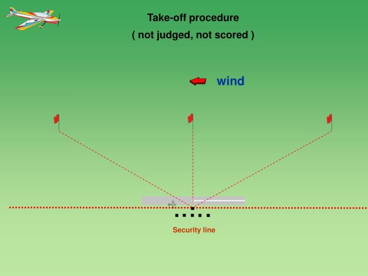 Take-off procedure
