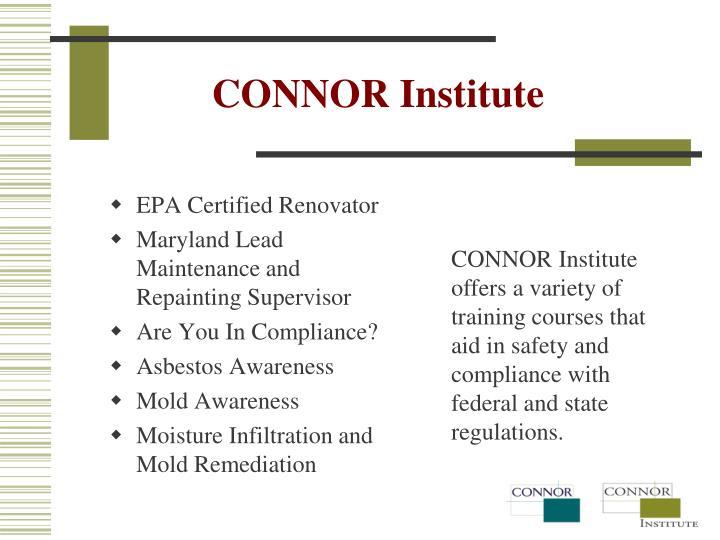 CONNOR Institute