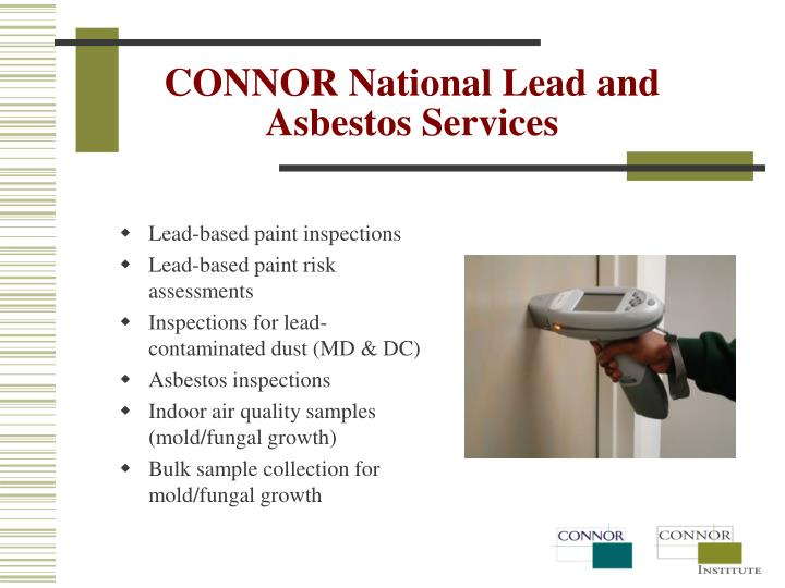 CONNOR National Lead and Asbestos Services
