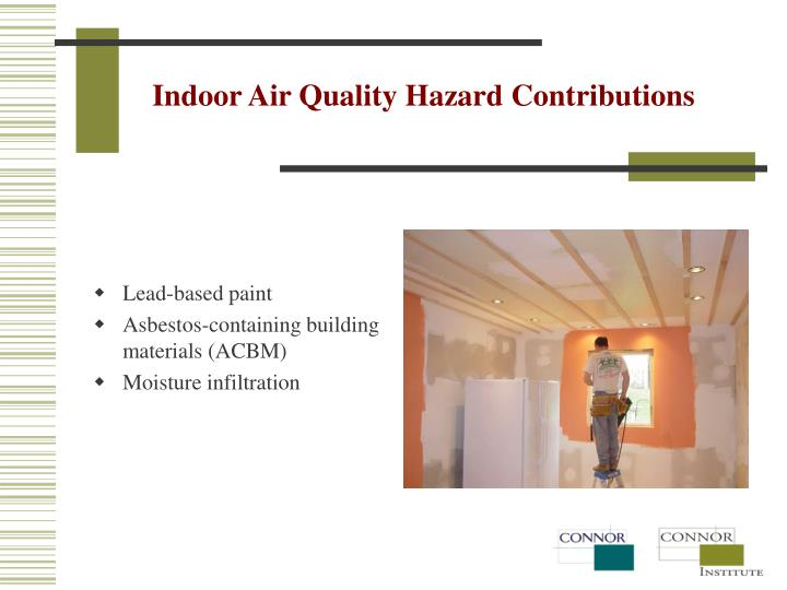 Indoor Air Quality Hazard Contributions