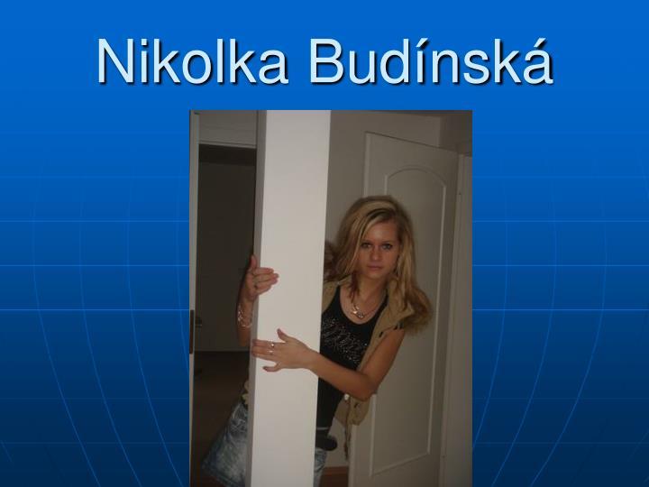 Nikolka Budínská