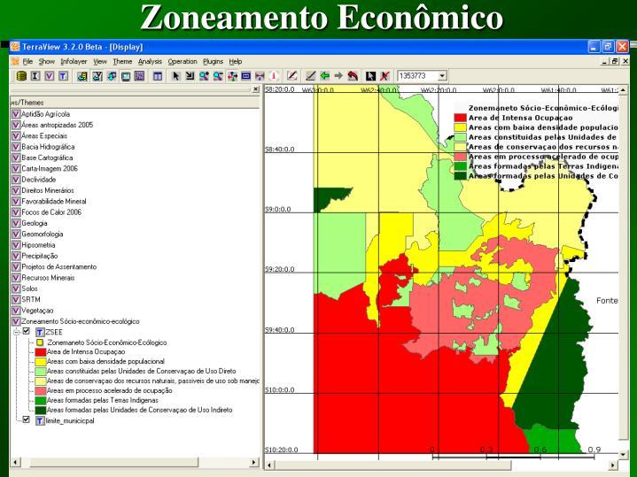 Zoneamento Econômico