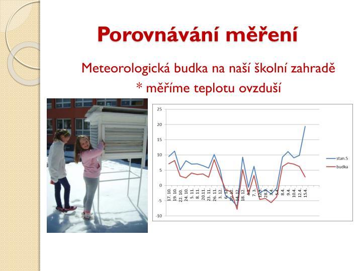 Porovnávání měření
