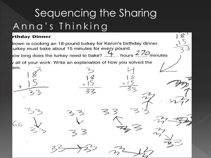 Sequencing the Sharing