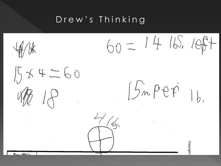 Drew's Thinking