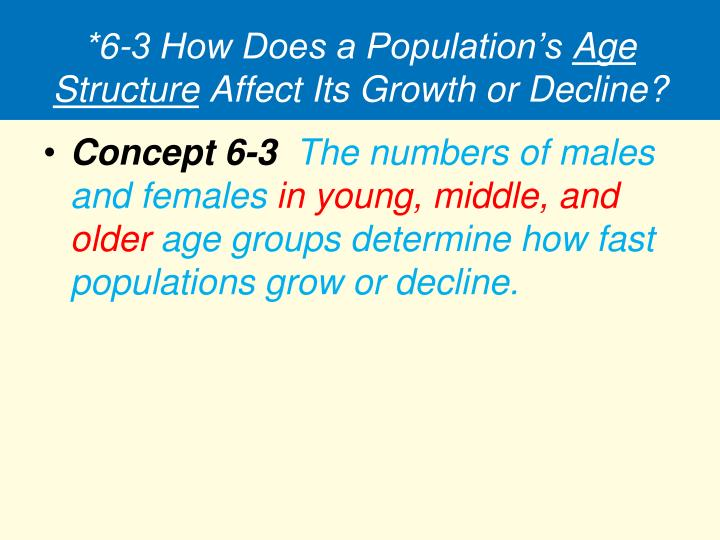 *6-3 How Does a Population's