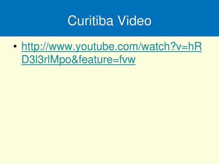 Curitiba Video