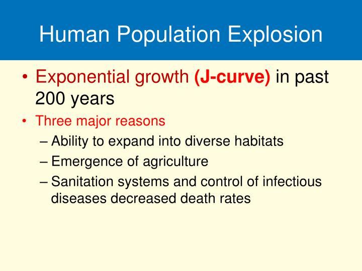 Human Population Explosion