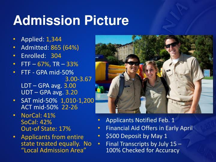 Admission Picture