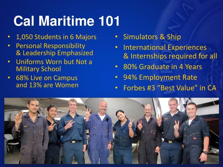 Cal Maritime 101