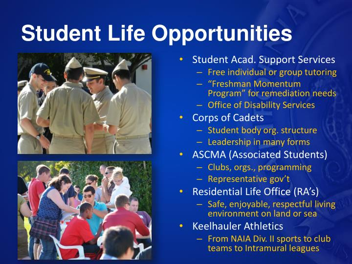 Student Life Opportunities