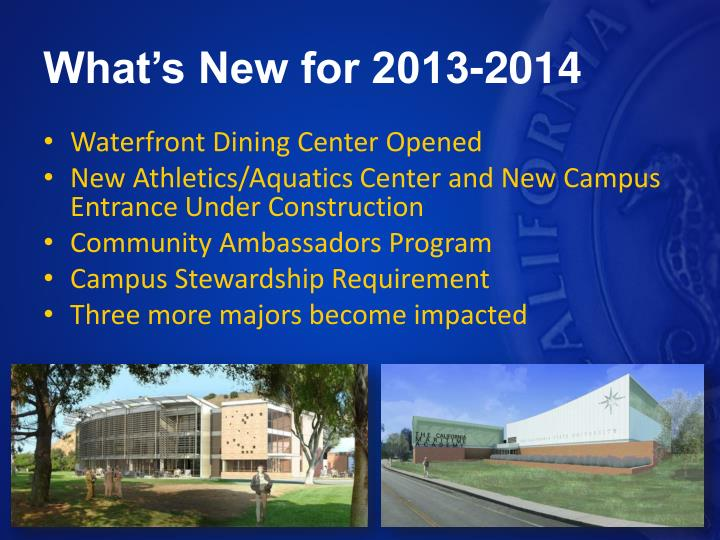 What's New for 2013-2014