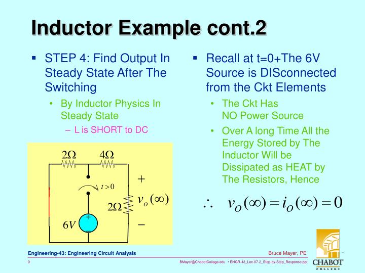 STEP 4: Find Output In Steady State After The Switching