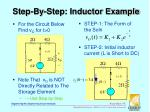 step by step inductor example