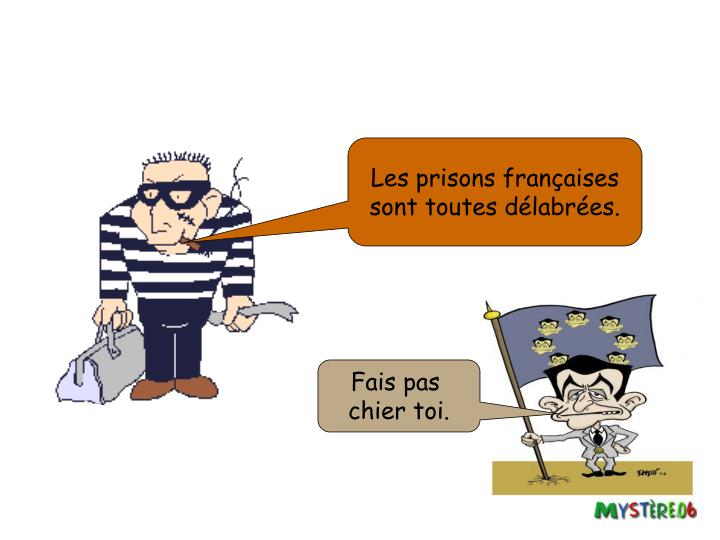 Les prisons françaises