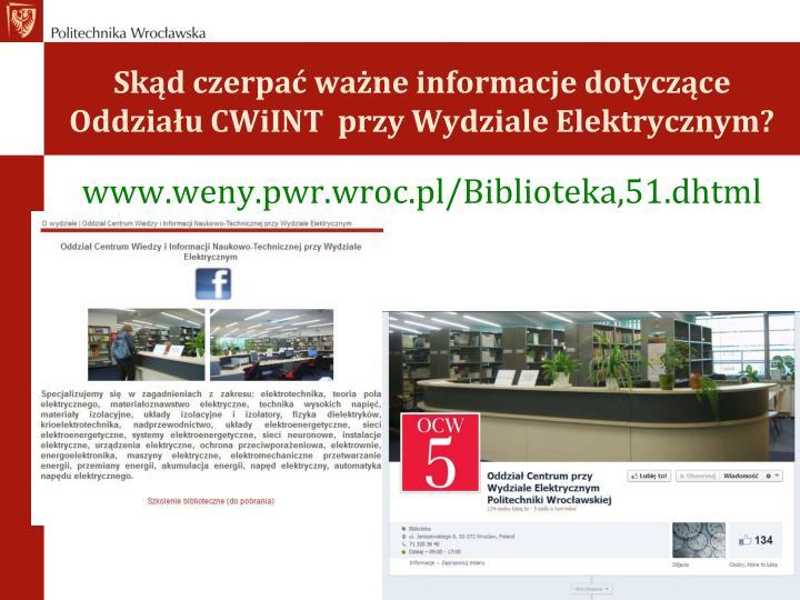 www.weny.pwr.wroc.pl/Biblioteka,51.dhtml