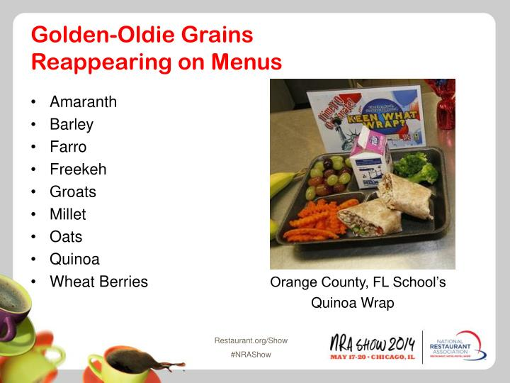 Golden-Oldie Grains