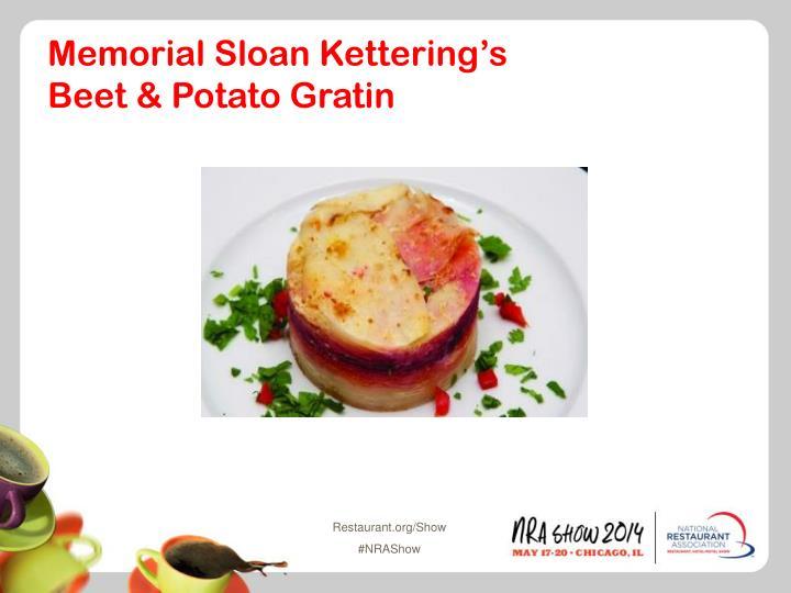 Memorial Sloan Kettering's