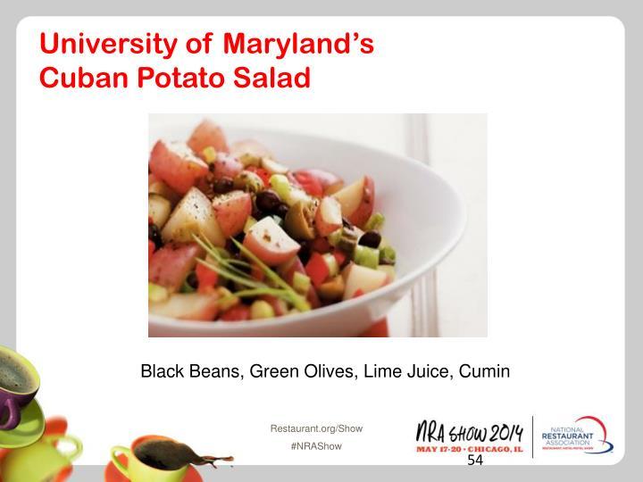University of Maryland's