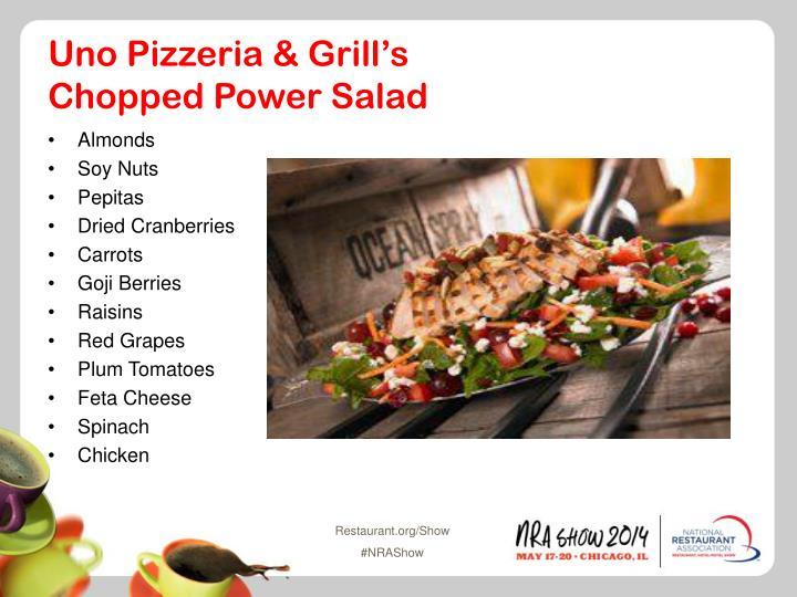 Uno Pizzeria & Grill's