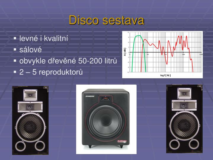 Disco sestava