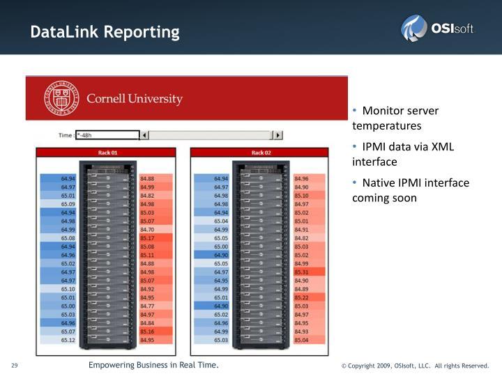 DataLink Reporting