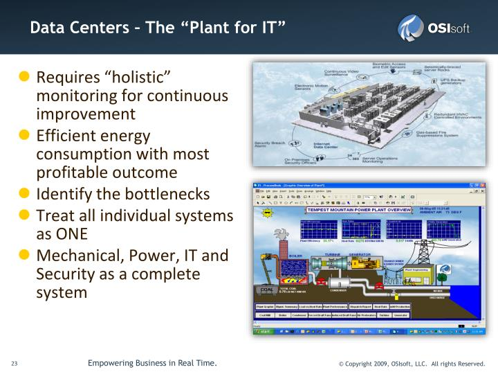 """Data Centers – The """"Plant for IT"""""""