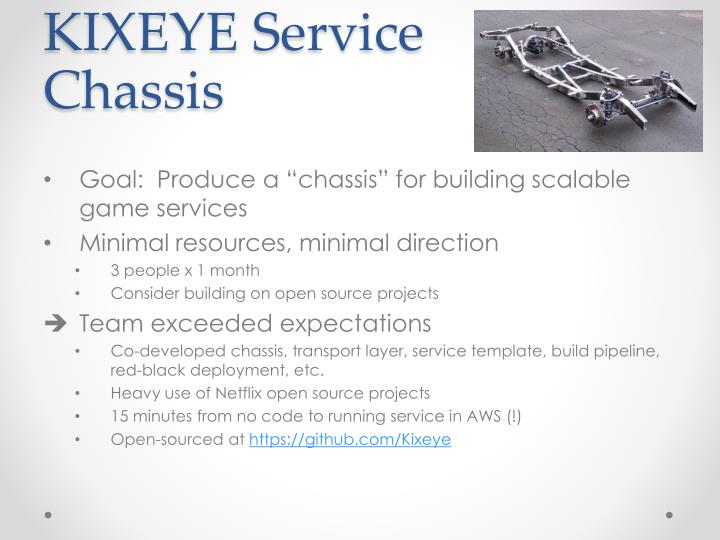 KIXEYE Service