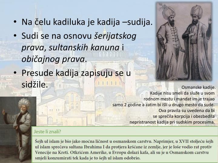PPT - DRŽAVNO I DRUŠTVENO UREĐENJE OSMANSKOG CARSTVA PowerPoint Presentation ...