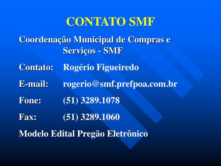 CONTATO SMF